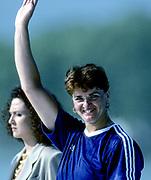 Barcelona Olympics 1992 - Lake Banyoles, SPAIN, ROM, W1X Medals Gold, Elisabeta LIPA-OLENIUC,   [Mandatory Credit: © Peter Spurrier/Intersport Images]