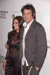 Brittany Furlan, Tommy Lee attending the premiere of the movie American Meme during the 2018 Tribeca Film Festival at Spring Studios in New York City, NY, USA on April 27, 2018. Photo by Julien Reynaud/APS-Medias/ABACAPRESS.COM