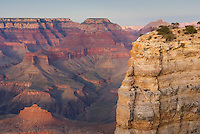 View of the Grand Canyon from Mather Point, Grand Canyon National Park Arizona