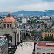 Revolution Monument in Mexico city.