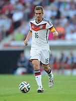 Fotball<br /> Tyskland v Armenia<br /> 06.06.2014<br /> Foto: Witters/Digitalsport<br /> NORWAY ONLY<br /> <br /> Philipp Lahm (Deutschland)<br /> Fussball, Testspiel, Deutschland - Armenien 6:1