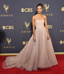 September 17, 2017 Los Angeles, CA Liev Schreiber 69th Emmy Awards - Arrivals held at the Microsoft Theatre L.A. Live © OConnor-Arroyo / AFF-USA.com. 17 Sep 2017 Pictured: Thandie Newton. Photo credit: MEGA TheMegaAgency.com +1 888 505 6342