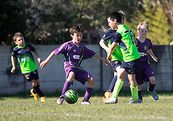 06 December 2015. Missouri City, Texas. <br /> Eclipse Soccer Club, 8th Annual Academy Cup - Toby Lazor Classic.<br /> New Orleans Jesters Youth Academy U9 Purple v Houston Express 07B Athletico. <br /> Jesters 1 - Athletico 3.<br /> Photo©; Charlie Varley/varleypix.com