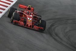 May 13, 2018 - Barcelona, Catalonia, Spain - KIMI RAIKKONEN (FIN) drives during the Spanish GP at Circuit de Barcelona - Catalunya in his Ferrari SF-71H (Credit Image: © Matthias Oesterle via ZUMA Wire)