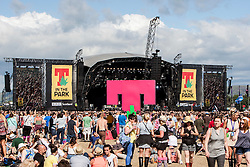 Main arena, Sunday, T in the Park 2014.<br /> © Michael Schofield.