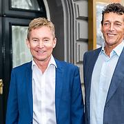 NLD/Amsterdam/20170823 - Premiere Grootste Zwanenmeer ter wereld, Hans Cornelisse en partner Ton Backer