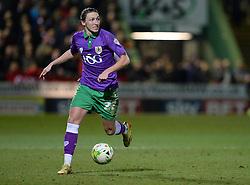 Bristol City's Luke Ayling - Photo mandatory by-line: Alex James/JMP - Mobile: 07966 386802 - 10/03/2015 - SPORT - Football - Yeovil - Huish Park - Yeovil Town v Bristol City - Sky Bet League One