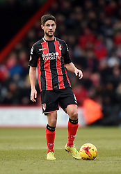 Bournemouth's Andrew Surman in action during the Sky Bet Championship match between AFC Bournemouth and Huddersfield Town at Goldsands Stadium on 14 February 2015 in Bournemouth, England - Photo mandatory by-line: Paul Knight/JMP - Mobile: 07966 386802 - 14/02/2015 - SPORT - Football - Bournemouth - Goldsands Stadium - AFC Bournemouth v Huddersfield Town - Sky Bet Championship