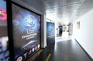 Venue setting<br /> LEN Champions League Ostia 16/12/2020<br /> Polo Natatorio Freccia Rossa <br /> Ostia, Italy ITA <br /> Photo © G.Scala/Deepbluemedia/Inside