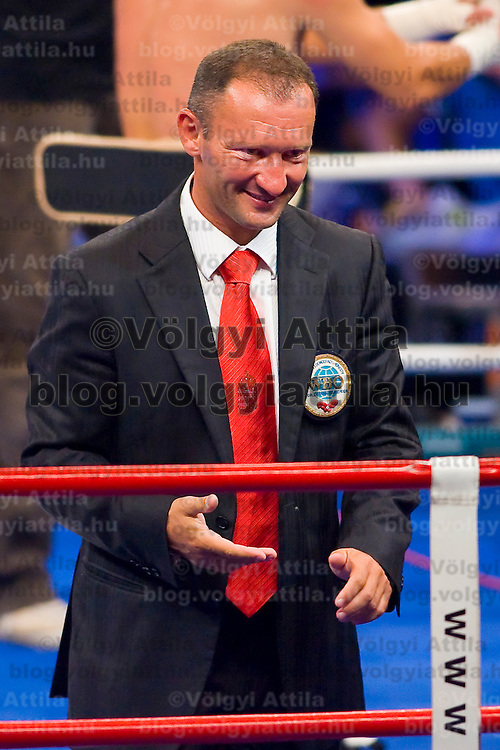 WBO title match organized by Universum Production in Budapest, Hungary. Saturday, 22. August 2009. ATTILA VOLGYI