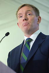© licensed to London News Pictures. London, UK 12/08/2013. Shadow immigration minister Chris Bryant delivering a speech in central London on Monday, August 12, 2013. Photo credit: Tolga Akmen/LNP