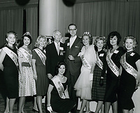 1961 Hollywood Court of Glamour ladies at the Aircade convention at the Hollywood Palladium