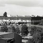 NLD/Huizen/19911002 - Sportcentrum de Bun Huizen ext. bovenaanzicht