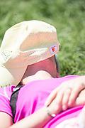A spectator during theThird Round of the The Arnold Palmer Invitational Championship 2017, Bay Hill, Orlando,  Florida, USA. 18/03/2017.<br /> Picture: PLPA/ Mark Davison<br /> <br /> <br /> All photo usage must carry mandatory copyright credit (© PLPA   Mark Davison)