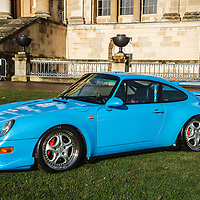 1995 Porsche 993 RS at Rennsport Collective at Stowe House, Buckinghamshire, UK, on 1 November 2020