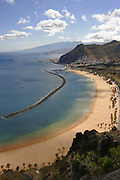 Playa de Teresitas, Tenerife, The Canary Islands, beach near Santa Cruz de Tenerife