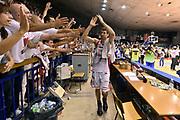 DESCRIZIONE : Reggio Emilia Lega A 2014-15 Grissin Bon Reggio Emilia - Banco di Sardegna Dinamo Sassari playoff Finale gara 5 <br /> GIOCATORE : Drake Diener<br /> CATEGORIA : esultanza postgame<br /> SQUADRA : Grissin Bon Reggio Emilia<br /> EVENTO : LegaBasket Serie A Beko 2014/2015<br /> GARA : Grissin Bon Reggio Emilia - Banco di Sardegna Dinamo Sassari playoff Finale gara 5<br /> DATA : 22/06/2015 <br /> SPORT : Pallacanestro <br /> AUTORE : Agenzia Ciamillo-Castoria/GiulioCiamillo<br /> Galleria : Lega Basket A 2014-2015 Fotonotizia : Reggio Emilia Lega A 2014-15 Grissin Bon Reggio Emilia - Banco di Sardegna Dinamo Sassari playoff Finale  gara 5<br /> Predefinita :