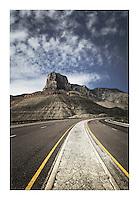 El Capitan Peak, Guadlupe Mountains National Park Texas