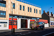 Walthamstow Fire Station. Opened in 2012 after London Fire Brigade spent 7.5 million pounds building it.