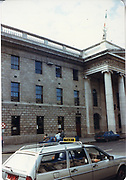 Old amateur photos of Dublin streets churches, cars, lanes, roads, shops schools, hospitals, gpo, O'Connell st, Custom House, Gate Theather, Protestant Church, Temple St Hospital, St Georges Church, Abbey St, GPO July 1986 July 1986