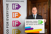 George Freeman MP supporting the Enough Food for Everyone?IF campaign. .MP's and Peers attended the parliamentary launch of the IF campaign in the State Rooms of Speakers House, Palace of Westminster. London, UK.