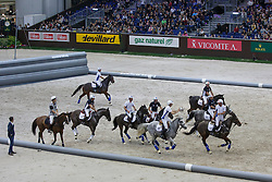 Demonstration Horse Ball<br /> CHI Genève 2015<br /> © Hippo Foto - Dirk Caremans<br /> 12/12/15