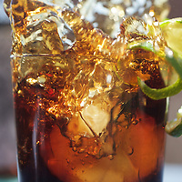 Splash of cola, twist of lime...ready for a drink in the sun?