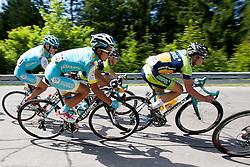 Tilegen Meidos (KAZ) of Astana during 2nd Stage Kocevje - Visnja Gora (168,5 km) at 20th Tour de Slovenie 2013, on June 14, 2013, Slovenia. (Photo by Urban Urbanc / Sportida.com)