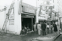 1976 Fire at Hollywood Famous Florist on Highland Ave.