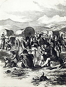 California emigrants. Pioneer life illustrated in 1856