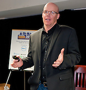Jim Fowler,  Jigsaw, tells his fascinating story of how Jigsaw was built, positioned and sold for $142 million to Salesforce, thus helping it become a market leader. Small Business Summit 2011 at Digital Sandbox in New York.