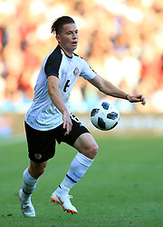 Costa Rica's Oscar Duarte during the International Friendly match at Elland Road, Leeds