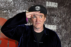 Quentin Tarantino attends the 'Django Unchained' Paris premiere red carpet arrival at Le Grand Rex, Paris, France, January 7, 2013. Photo by Imago / i-Images...UK ONLY