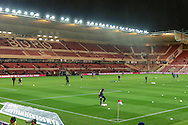 General view of the Riverside Stadium before the Sky Bet Championship match between Middlesbrough and Wolverhampton Wanderers at the Riverside Stadium, Middlesbrough, England on 4 March 2016. Photo by Mark P Doherty.