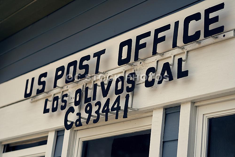 Santa Barbara US Post Office in Los Olivos