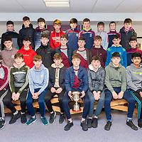 U15 St Joseph's Doora-Barefield Team with Cup