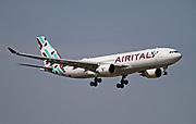 EI-GFX Airitaly Airbus A330 Photographed at Malpensa airport, Milan, Italy