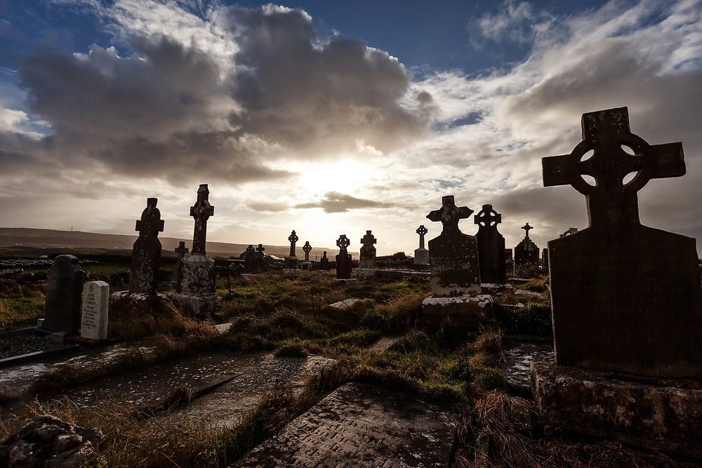 Killilagh Church and graveyard Doolin county Clare Ireland Landscape photography of Mike Mulcaire from various countries around the world.