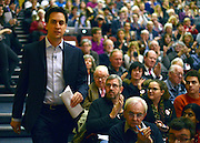 © Licensed to London News Pictures. 12/01/2013. London, UK ED MILIBAND arrives at The Institute of Education. Ed Miliband MP, Leader of the Labour Party, delivers his first major speech of 2013 today, Saturday January 12 2013. The keynote address to the Fabian Society was entitled: ?One Nation Labour, the party of change.? Photo credit : Stephen Simpson/LNP