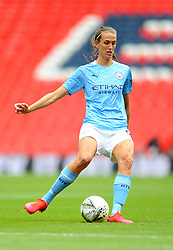 Jill Scott of Manchester City Women in action - Mandatory by-line: Nizaam Jones/JMP - 29/08/2020 - FOOTBALL - Wembley Stadium - London, England - Chelsea v Manchester City - FA Women's Community Shield
