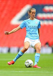 Jill Scott of Manchester City Women in action - Mandatory by-line: Nizaam Jones/JMP - 29/08/2020 - FOOTBALL - Wembley Stadium - London, England - Chelsea v Manchester City - FA Women's Community Shield