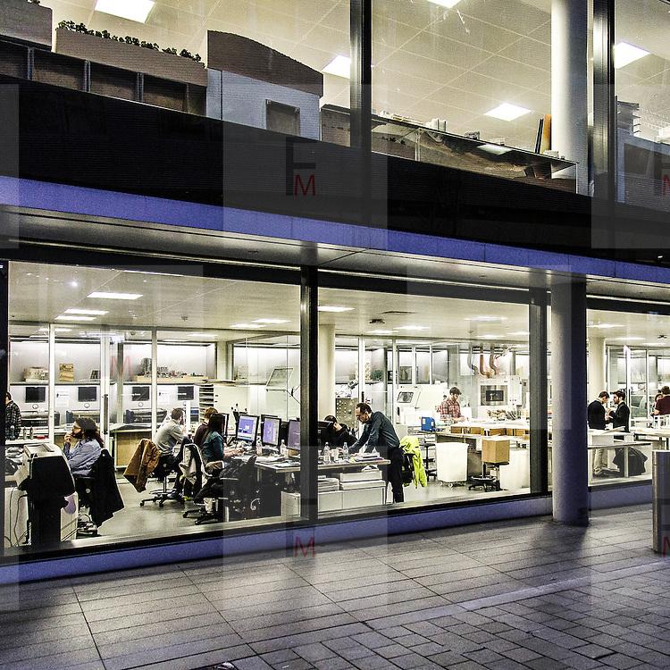 Studio del famoso architetto Norman Foster a Battesea.<br /> <br /> The studio of the famous architect Norman Foster in Battersea.