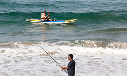 South Africa - Durban -  22 June 2020 -   Fishermen have begun trickling back to the Durban coastline as the ban on recreational fishing during the Covid-19 lockdown was lifted. . Picture Leon Lestrade/African News Agency(ANA).