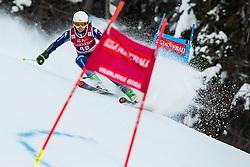 Luisa Matilde Maria Bertani (ITA) during the Ladies' Giant Slalom at 57th Golden Fox event at Audi FIS Ski World Cup 2020/21, on January 16, 2021 in Podkoren, Kranjska Gora, Slovenia. Photo by Vid Ponikvar