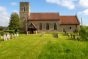 Village parish church of Saint Mary, Burstall, Suffolk, England, UK