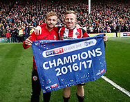 during the English League One match at Bramall Lane Stadium, Sheffield. Picture date: April 17th 2017. Pic credit should read: Simon Bellis/Sportimage