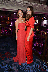 British fine jewellery brand Boodles welcomed guests for the 2013 Boodles Boxing Ball in aid of Starlight Children's Foundation held at the Grosvenor House Hotel, Park Lane, London on 21st September 2013.<br /> Picture Shows:-LAVINIA BRENNAN and LADY NATASHA RUFUS-ISAACS.<br /> <br /> Press release - https://www.dropbox.com/s/a3pygc5img14bxk/BBB_2013_press_release.pdf<br /> <br /> For Quotes  on the event call James Amos on 07747 615 003 or email jamesamos@boodles.com. For all other press enquiries please contact luciaroberts@boodles.com (0788 038 3003)
