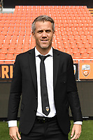 Mickael Landreau Head coach during photoshooting of FC Lorient for new season 2017/2018 on September 12, 2017 in Lorient, France. (Photo by Philippe Le Brech/Icon Sport)