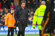 Gary Bowyer of Bradford City (Manager) during the EFL Sky Bet League 1 match between Scunthorpe United and Bradford City at Glanford Park, Scunthorpe, England on 27 April 2019.