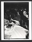 Henrietta Thompson's hand. Falklands Ball. Grosvenor House. London. 2 November 1982.. Exhibition in a Box